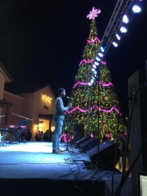 Village Glows Performance