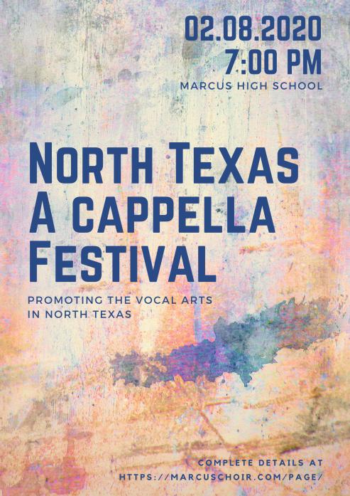 North Texas A capella Festival